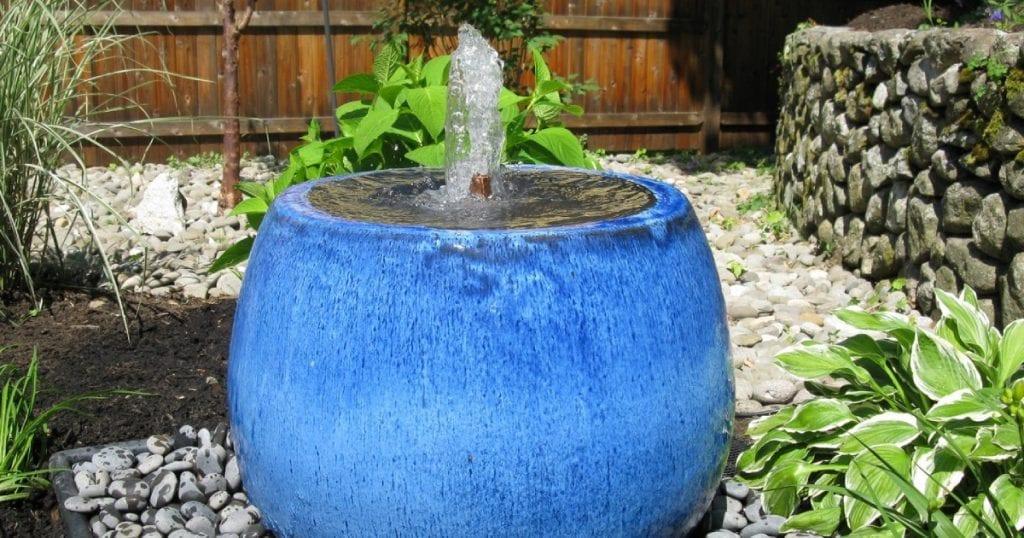 Fontaine intégrée