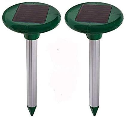 Chasse-taupes à énergie solaire