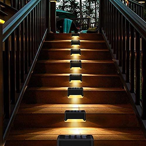 Lumière solaire escalier